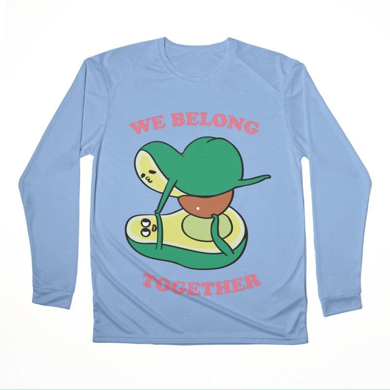 We Belong Together Avocado Yoga Men's Performance Longsleeve T-Shirt by huebucket's Artist Shop