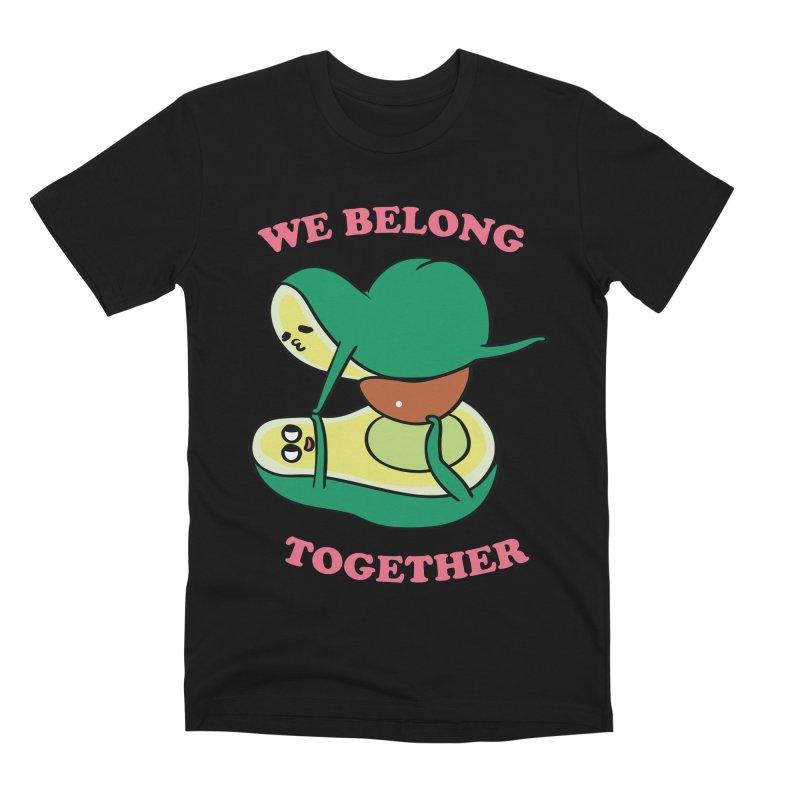 We Belong Together Avocado Yoga Men's Premium T-Shirt by huebucket's Artist Shop