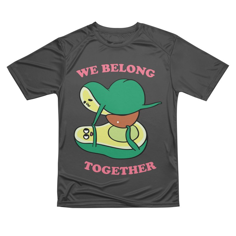 We Belong Together Avocado Yoga Men's Performance T-Shirt by huebucket's Artist Shop