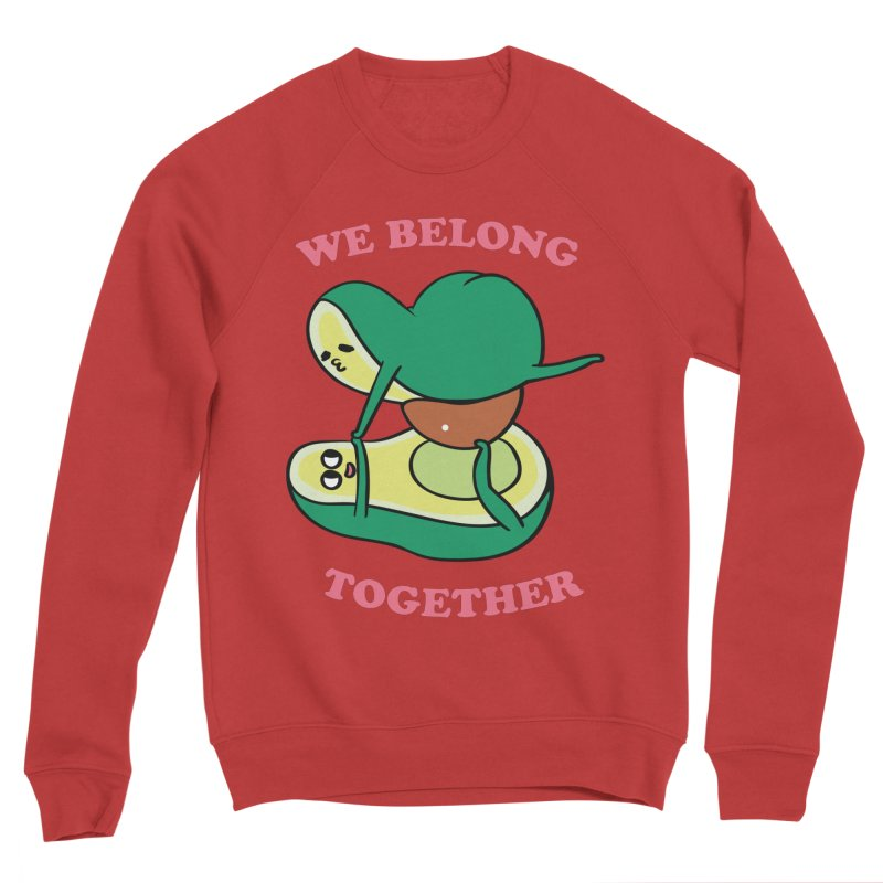 We Belong Together Avocado Yoga Women's Sponge Fleece Sweatshirt by huebucket's Artist Shop