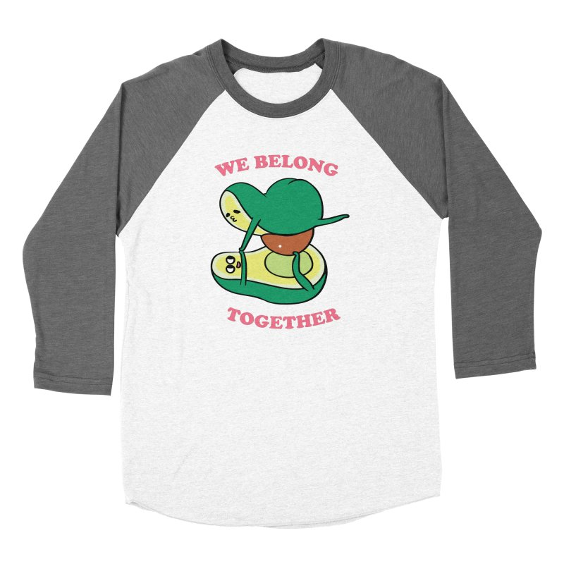 We Belong Together Avocado Yoga Women's Longsleeve T-Shirt by huebucket's Artist Shop