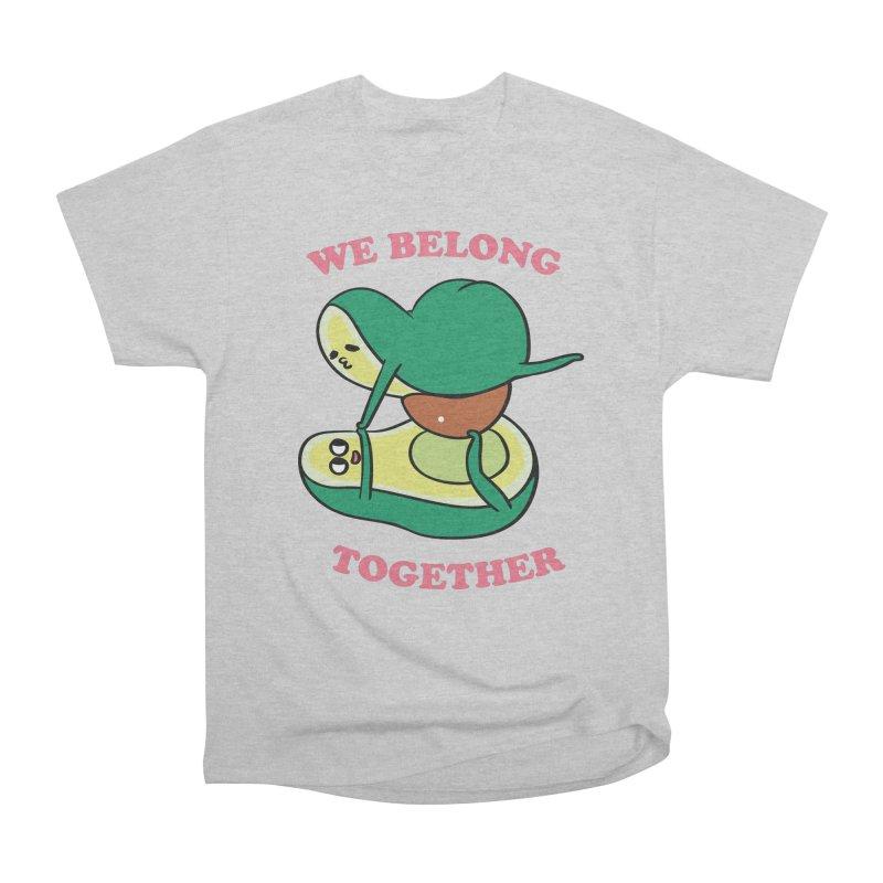 We Belong Together Avocado Yoga Men's Heavyweight T-Shirt by huebucket's Artist Shop