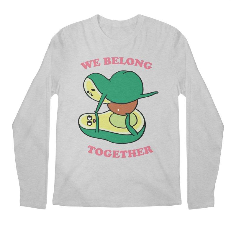 We Belong Together Avocado Yoga Men's Regular Longsleeve T-Shirt by huebucket's Artist Shop