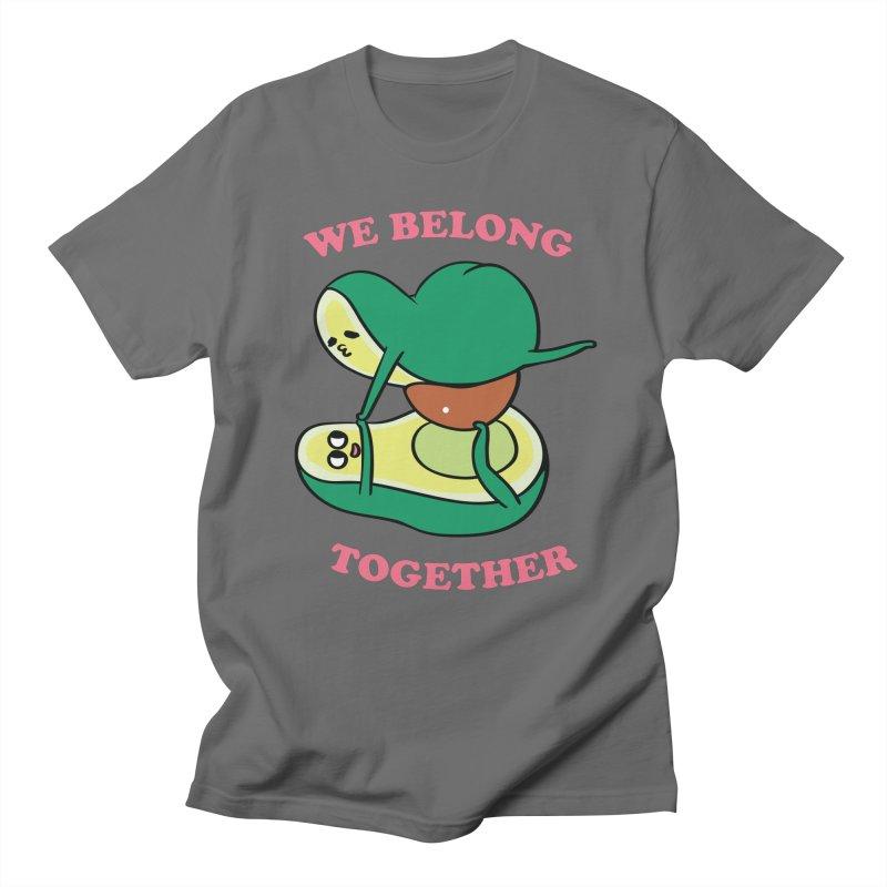 We Belong Together Avocado Yoga Men's T-Shirt by huebucket's Artist Shop