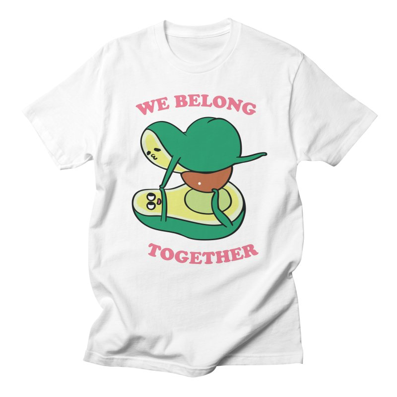 We Belong Together Avocado Yoga Women's Regular Unisex T-Shirt by huebucket's Artist Shop