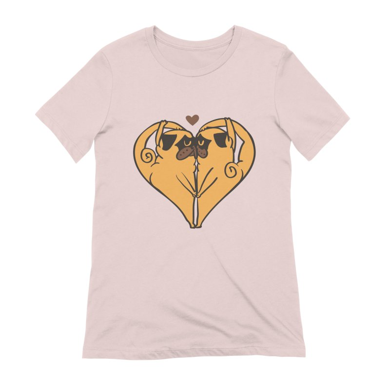 Stretching and Love Women's Extra Soft T-Shirt by huebucket's Artist Shop