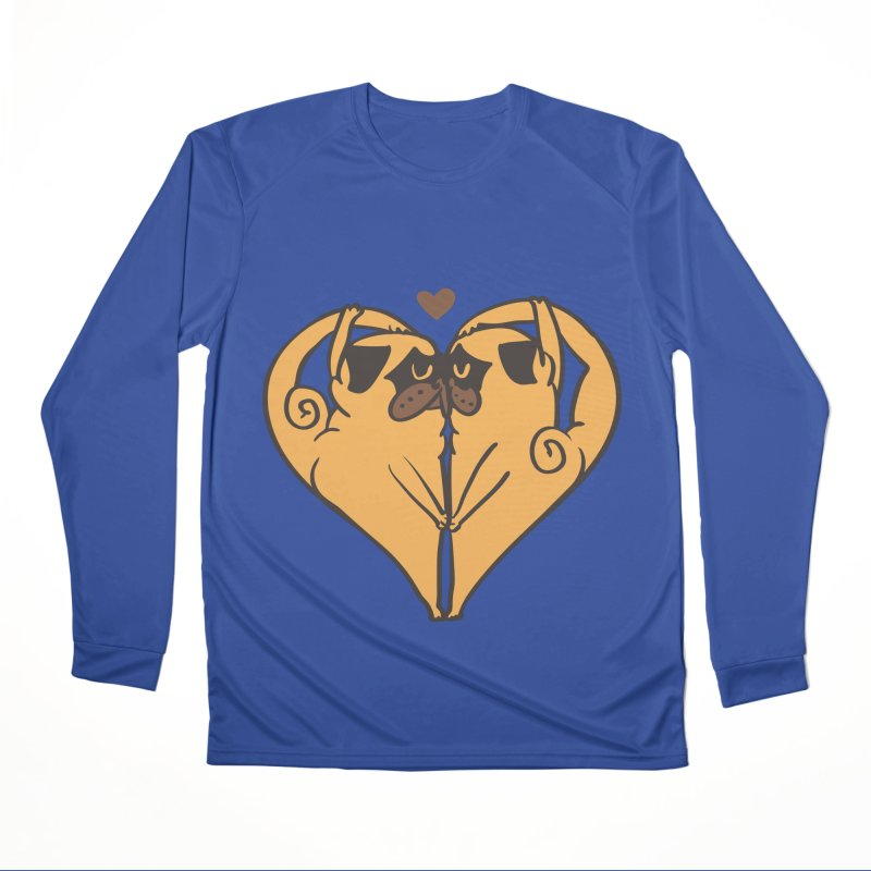 Stretching and Love Men's Performance Longsleeve T-Shirt by huebucket's Artist Shop