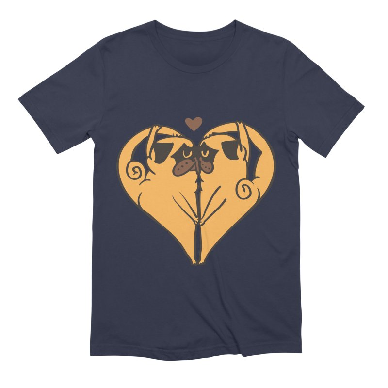 Stretching and Love Men's Extra Soft T-Shirt by huebucket's Artist Shop