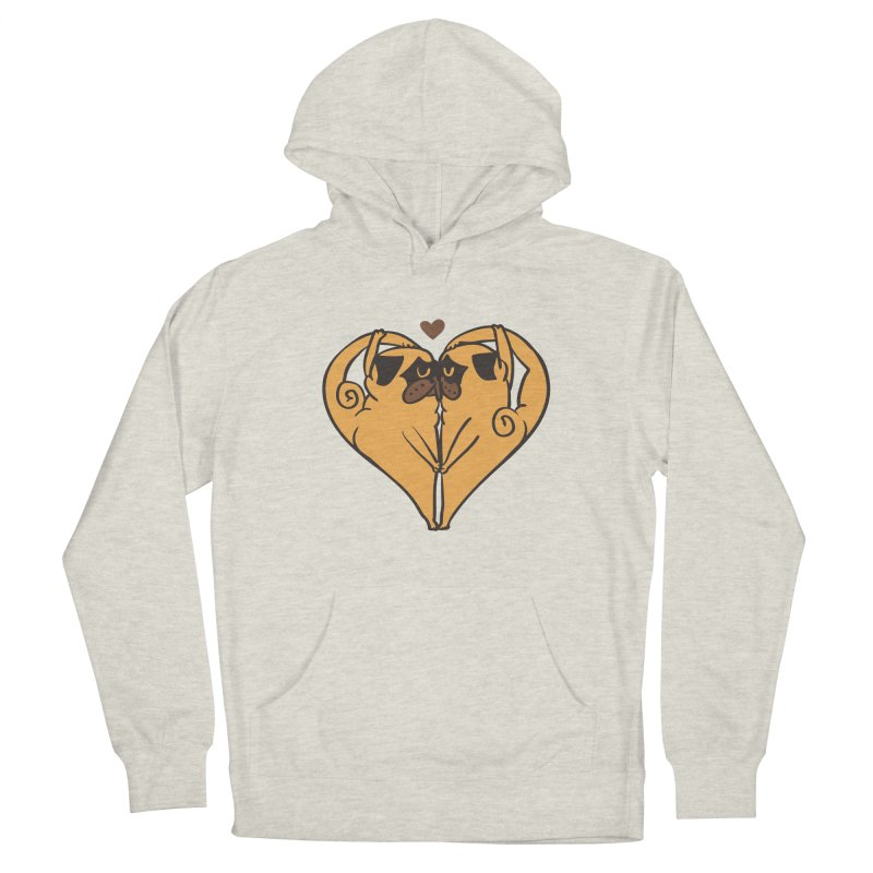 Stretching and Love Men's French Terry Pullover Hoody by huebucket's Artist Shop