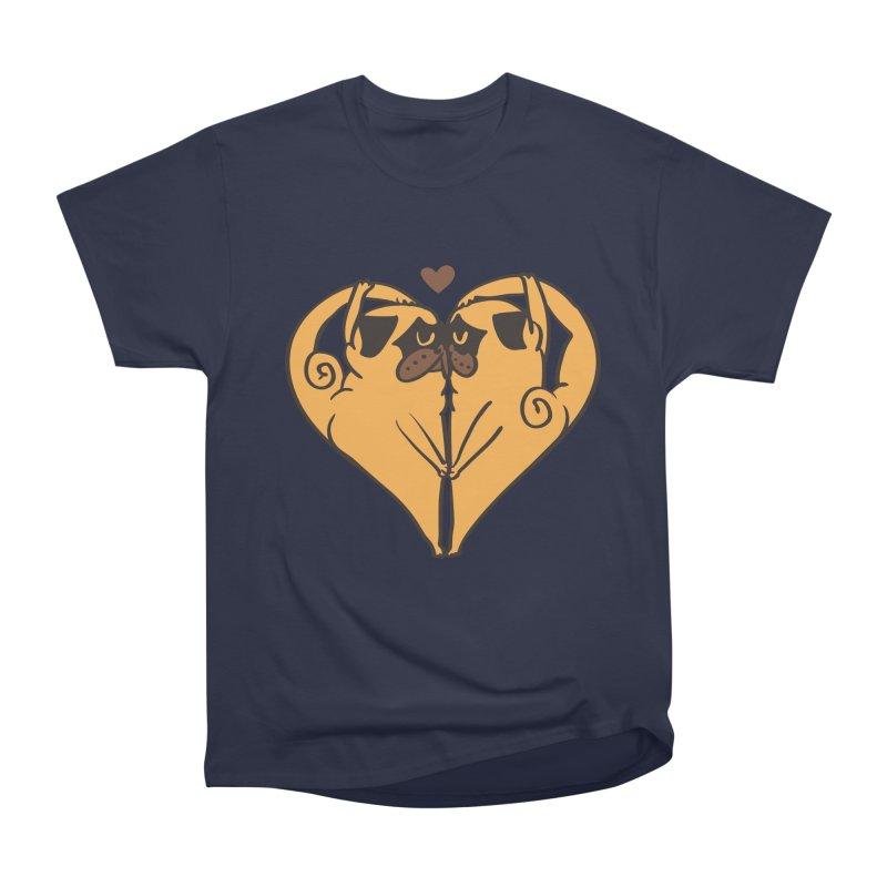 Stretching and Love Men's Heavyweight T-Shirt by huebucket's Artist Shop