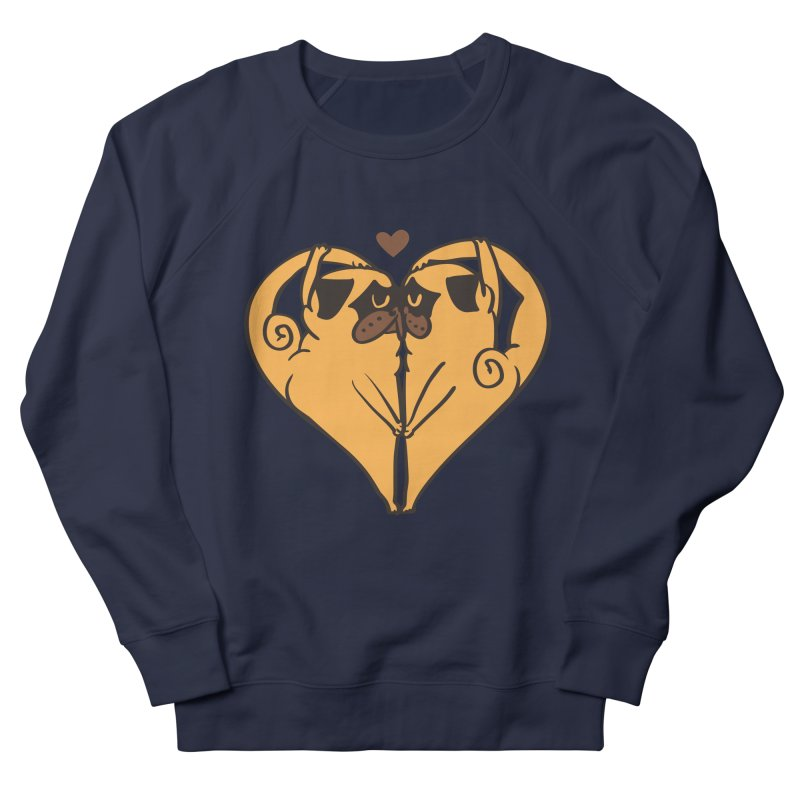 Stretching and Love Women's French Terry Sweatshirt by huebucket's Artist Shop