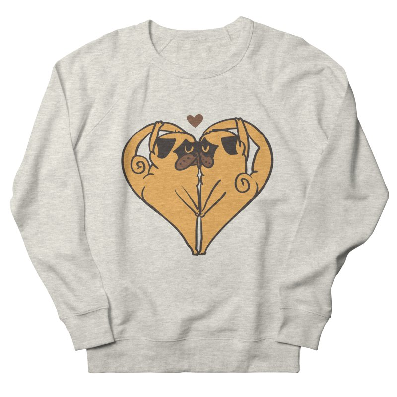 Stretching and Love Men's French Terry Sweatshirt by huebucket's Artist Shop