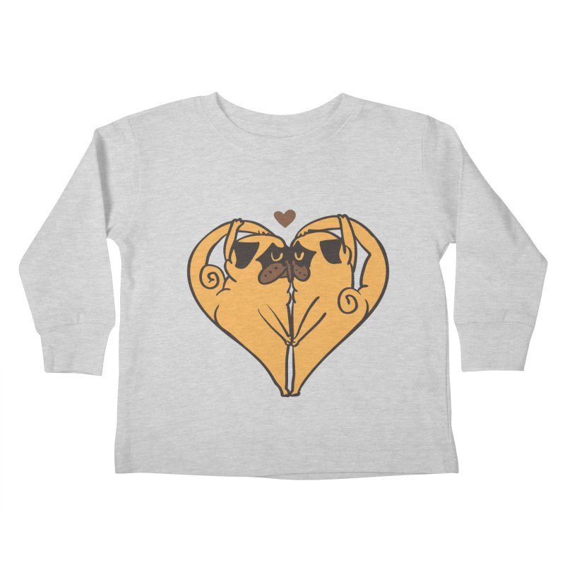Stretching and Love Kids Toddler Longsleeve T-Shirt by huebucket's Artist Shop