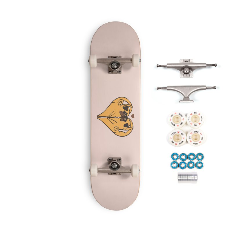 Stretching and Love Accessories Complete - Premium Skateboard by huebucket's Artist Shop