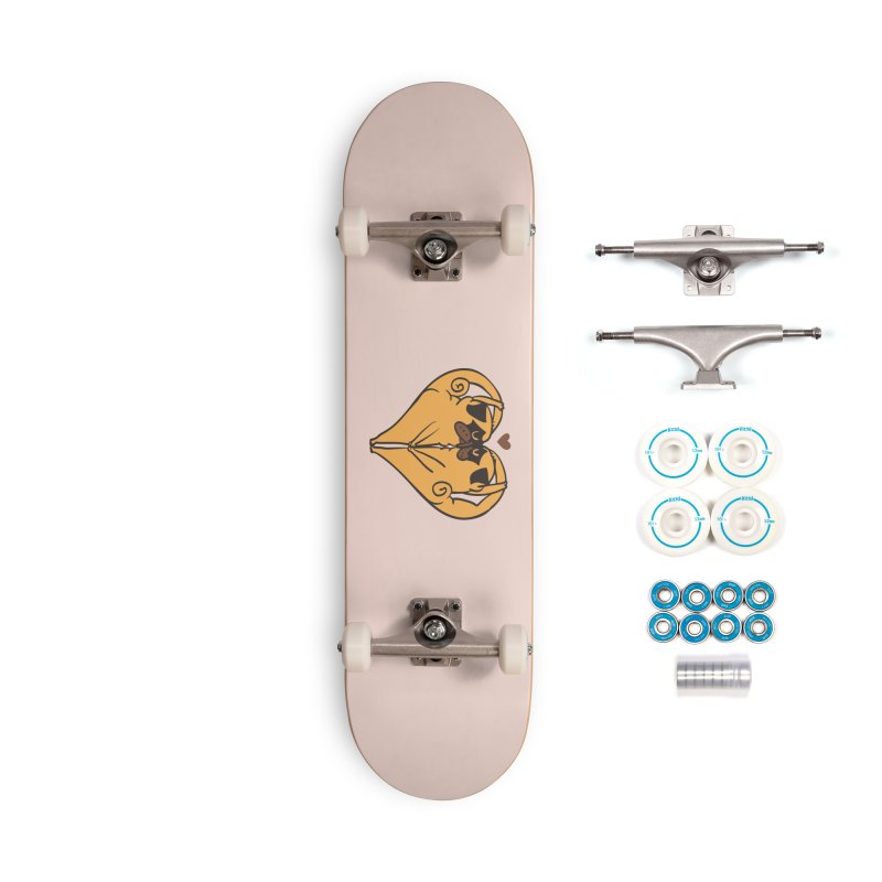 Stretching and Love Accessories Complete - Basic Skateboard by huebucket's Artist Shop