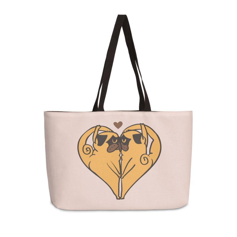 Stretching and Love Accessories Weekender Bag Bag by huebucket's Artist Shop