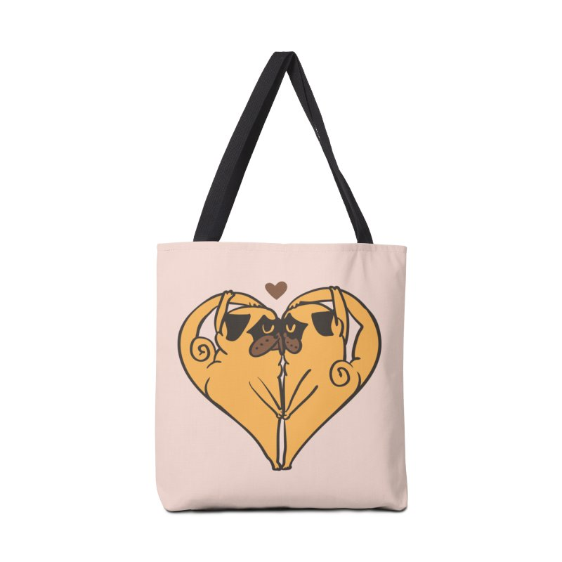 Stretching and Love Accessories Tote Bag Bag by huebucket's Artist Shop