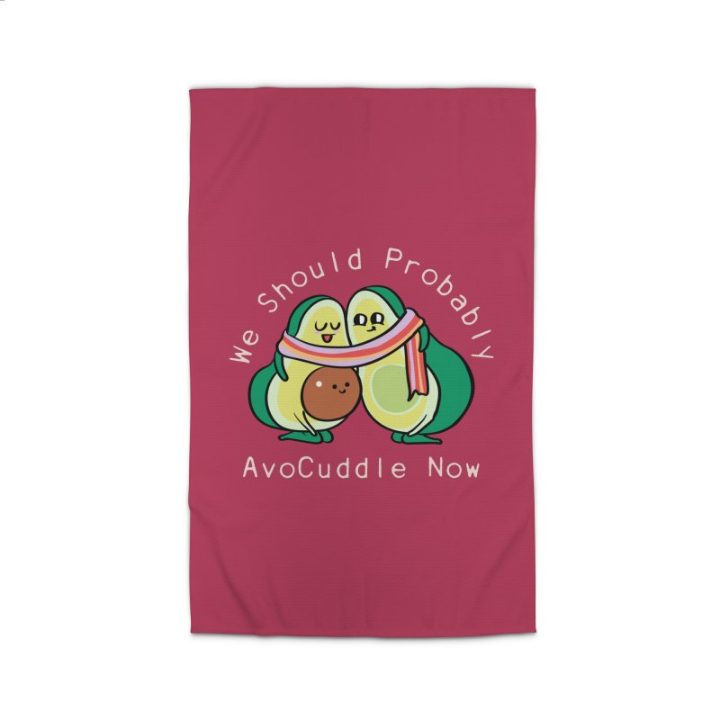 We Should Probably AvoCuddle Now Home Rug by huebucket's Artist Shop