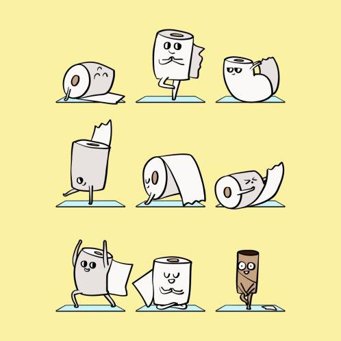 Design for Toilet Paper Yoga