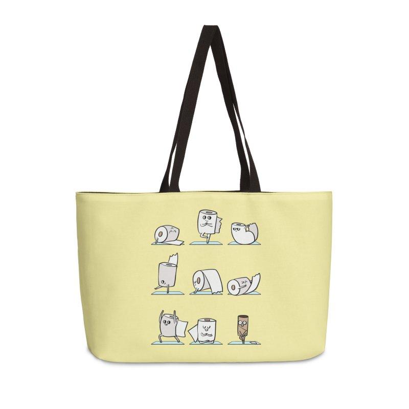 Toilet Paper Yoga Accessories Weekender Bag Bag by huebucket's Artist Shop