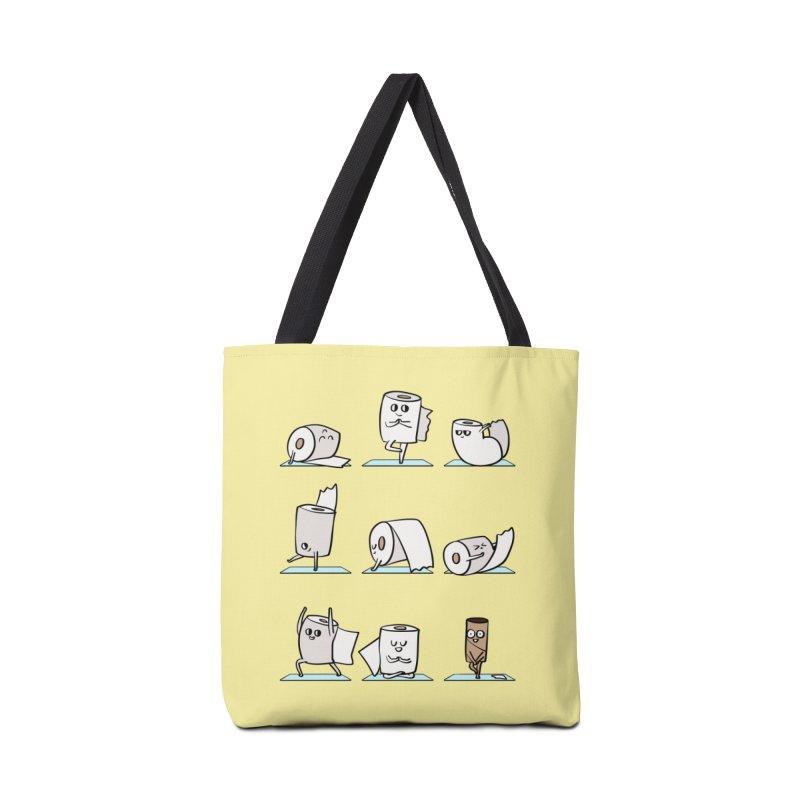 Toilet Paper Yoga Accessories Tote Bag Bag by huebucket's Artist Shop
