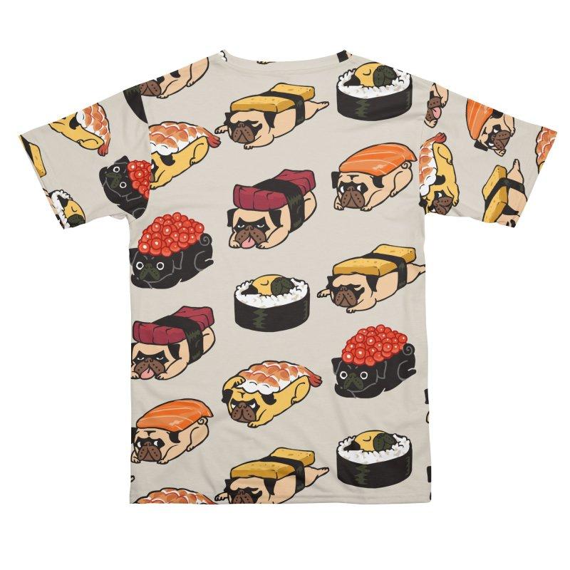 Pug Sushi Men's Cut & Sew by huebucket's Artist Shop