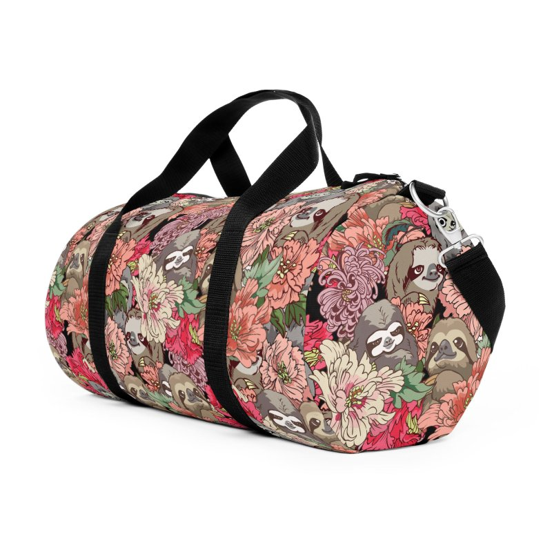 Because Sloths Accessories Duffel Bag Bag by huebucket's Artist Shop