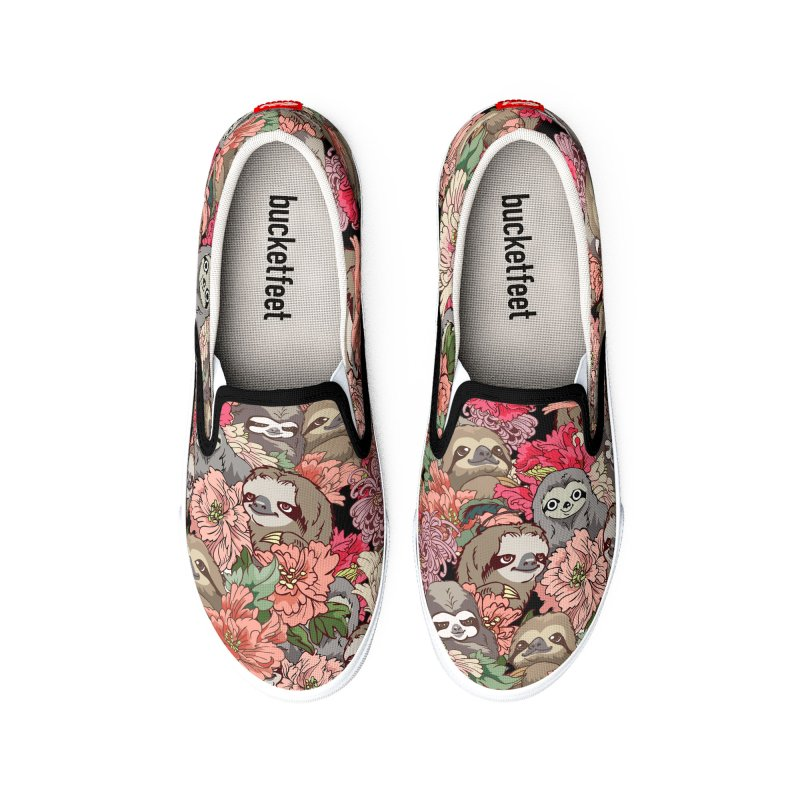 Because Sloths Women's Shoes by huebucket's Artist Shop