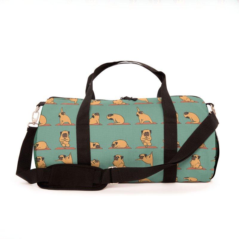 Pug Yoga Accessories Bag by huebucket's Artist Shop