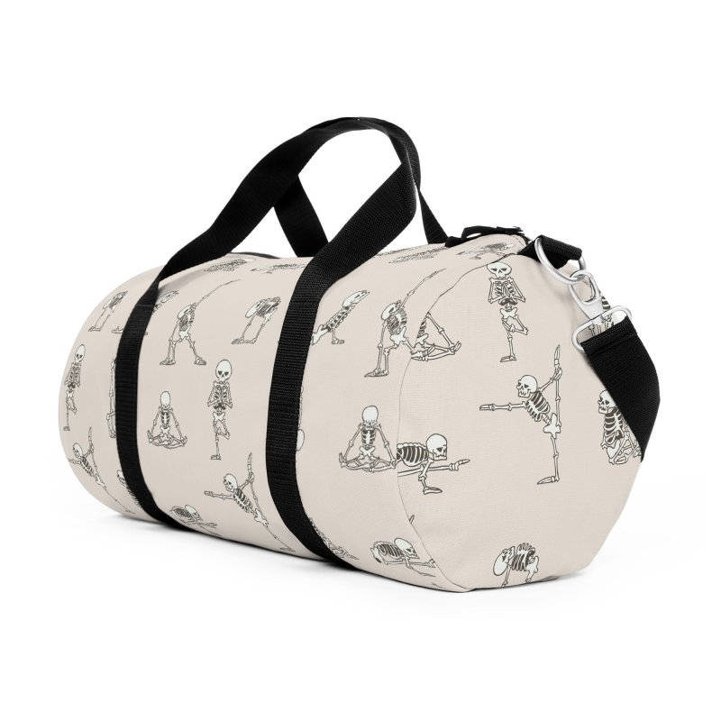 Skeleton Yoga Accessories Duffel Bag Bag by huebucket's Artist Shop