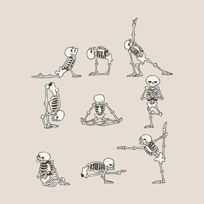 Skeleton Yoga by huebucket's Artist Shop