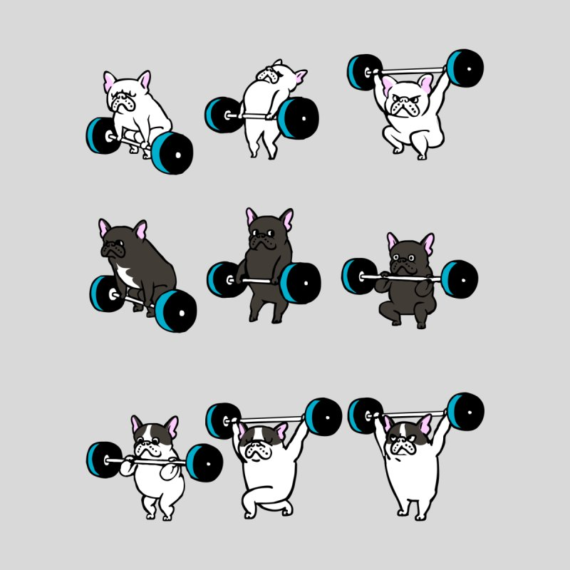 OLYMPIC LIFTING  FRENCHIE by huebucket's Artist Shop
