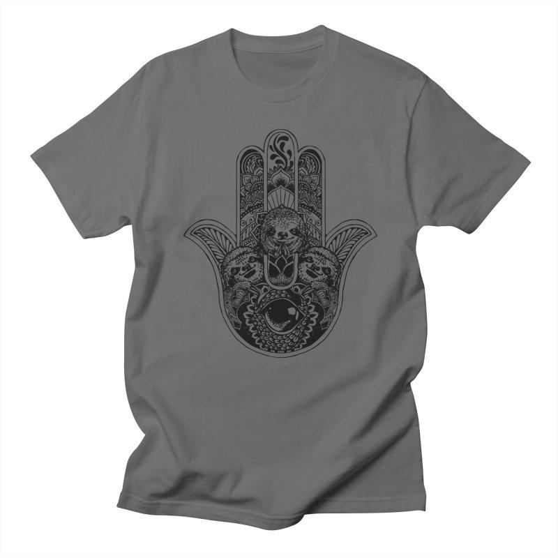 cadf3397a Hamsa Hand Sloth Men's T-Shirt by huebucket's Artist Shop