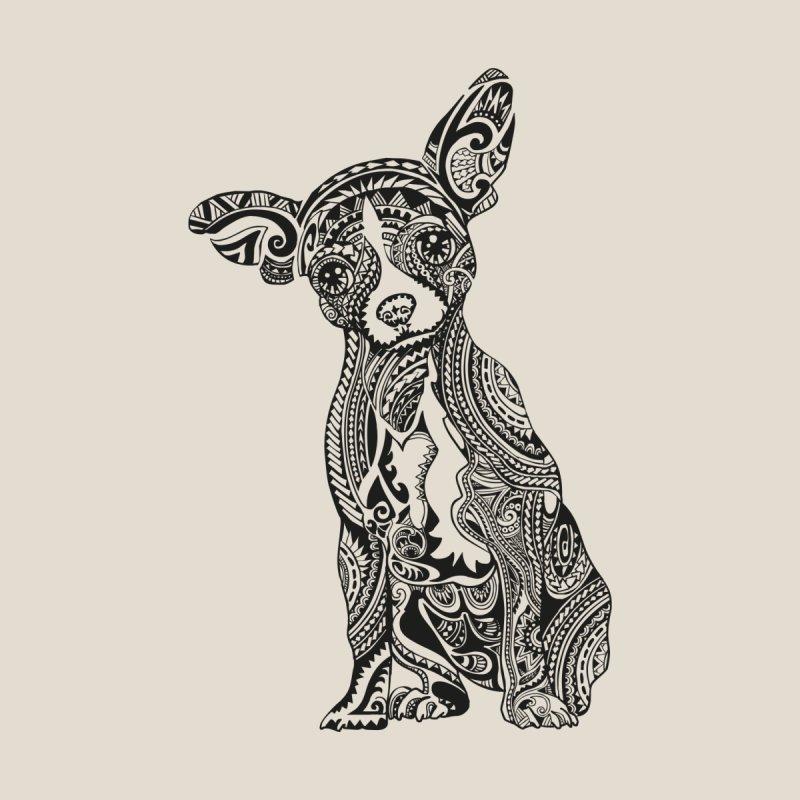 Polynesian Chihuahua by huebucket's Artist Shop