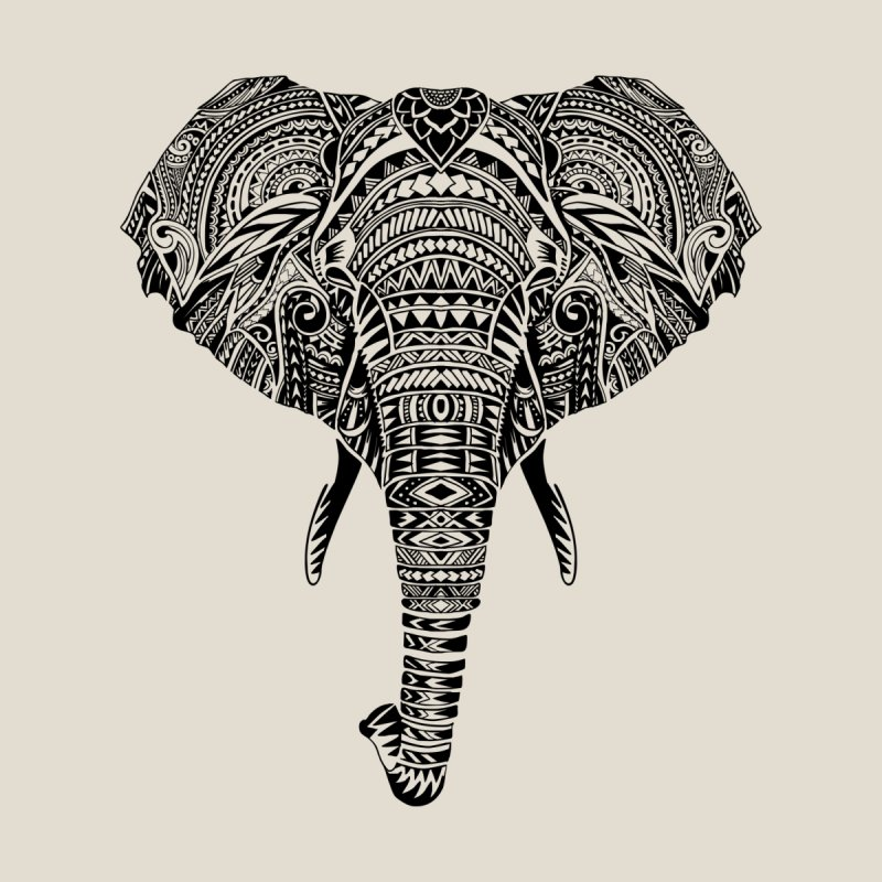 Polynesian Elephant by huebucket's Artist Shop