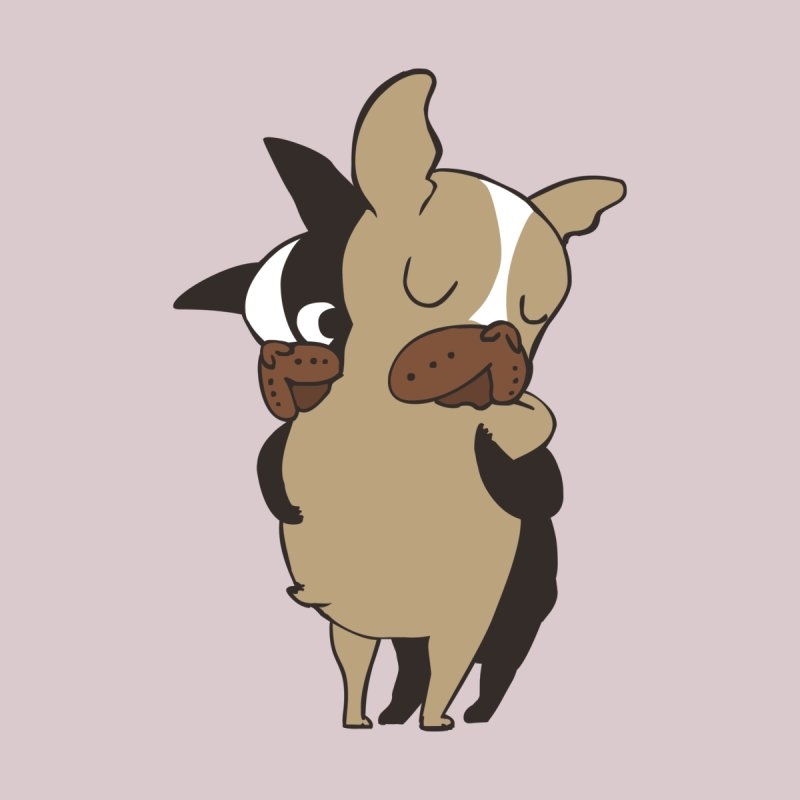 Frenchie Hugs by huebucket's Artist Shop