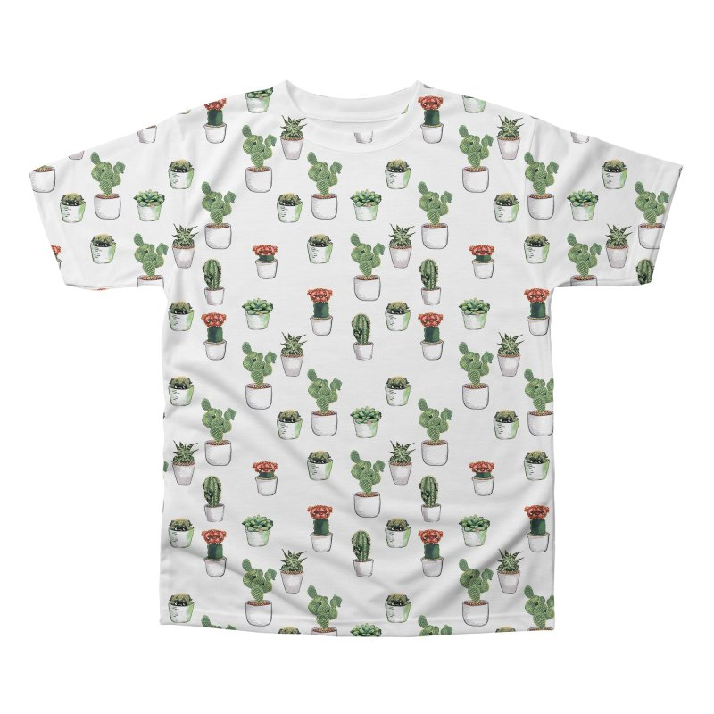 Cacti & Pugculents Men's Regular All Over Print by huebucket's Artist Shop