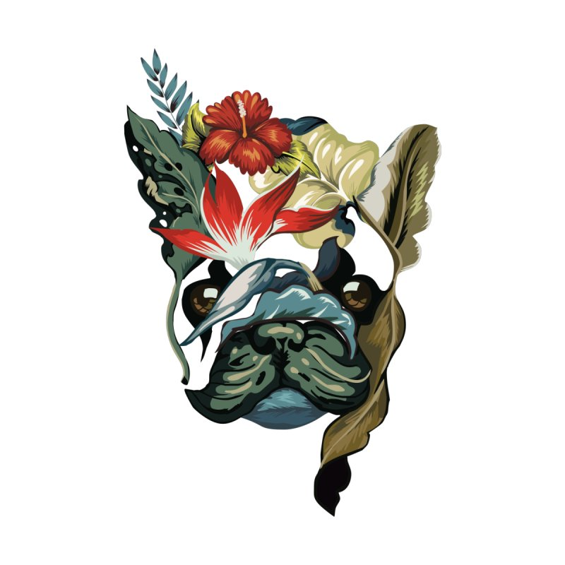 Tropical Frenchie   by huebucket's Artist Shop