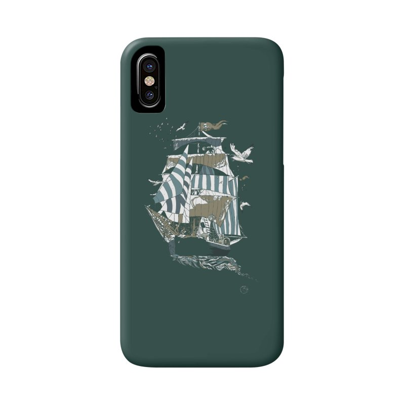 Sail to The Moon Accessories Phone Case by huebucket's Artist Shop
