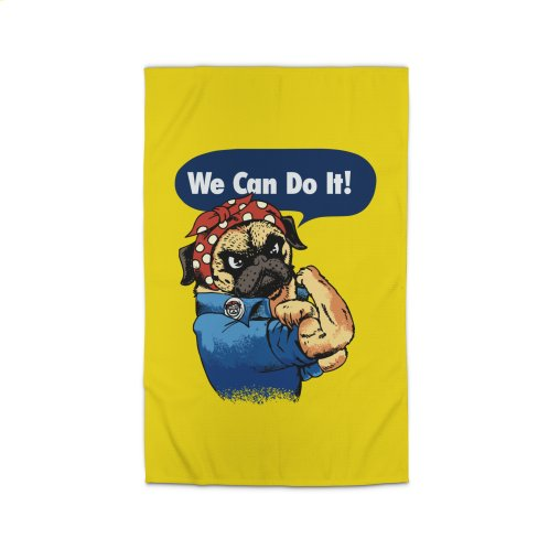 image for We Can Do It Pug