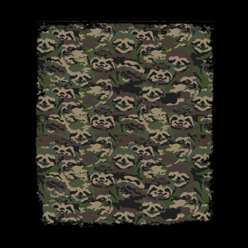 SLOTH CAMOUFLAGE None  by huebucket's Artist Shop