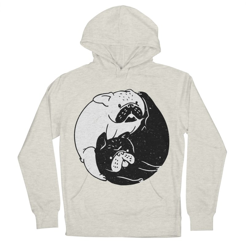 The Tao of French Bulldog Men's Pullover Hoody by huebucket's Artist Shop