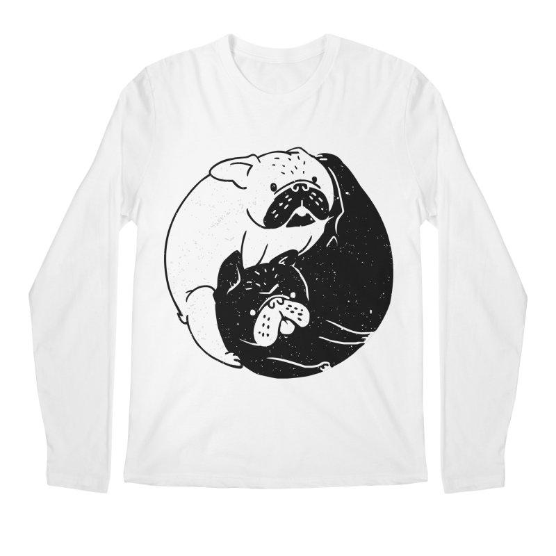 The Tao of French Bulldog Men's Longsleeve T-Shirt by huebucket's Artist Shop