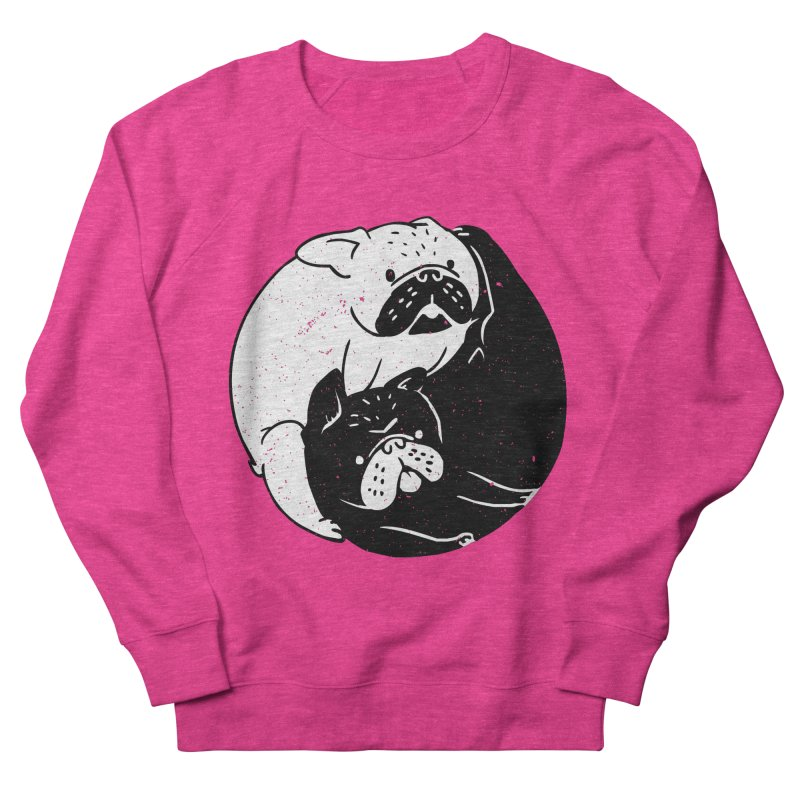 The Tao of French Bulldog Women's Sweatshirt by huebucket's Artist Shop