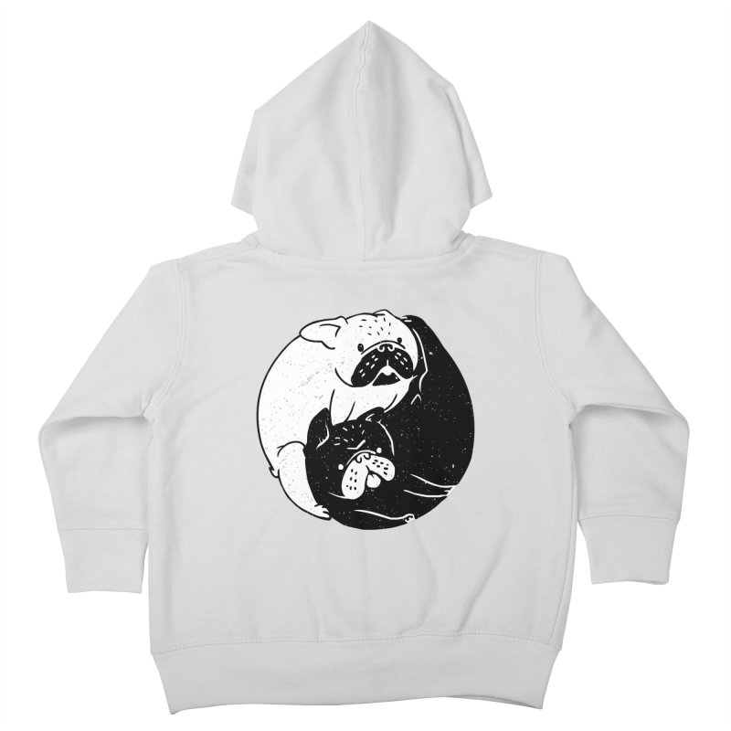 The Tao of French Bulldog Kids Toddler Zip-Up Hoody by huebucket's Artist Shop