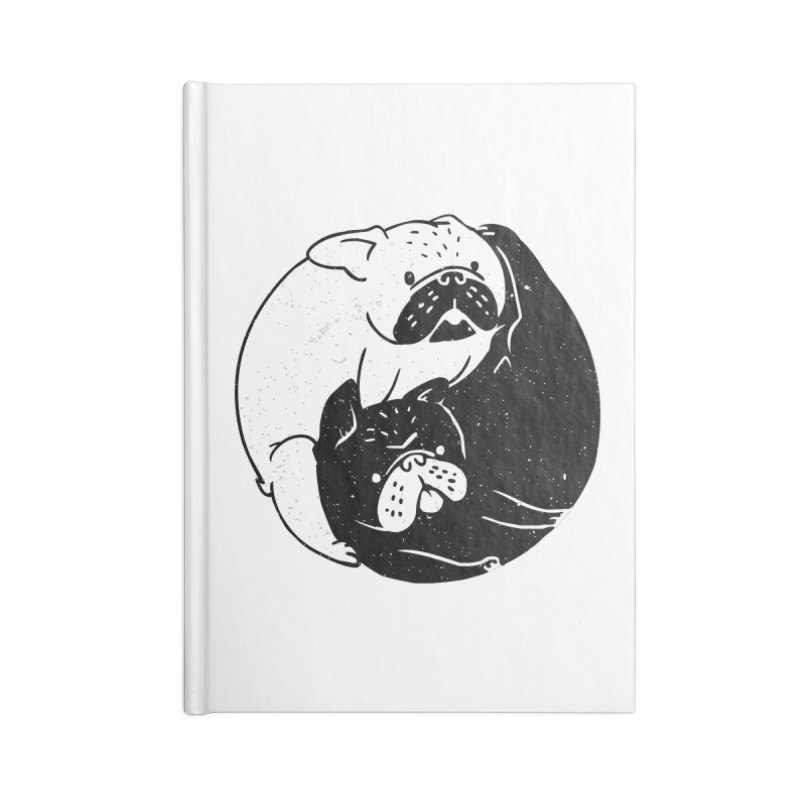The Tao of French Bulldog Accessories Notebook by huebucket's Artist Shop