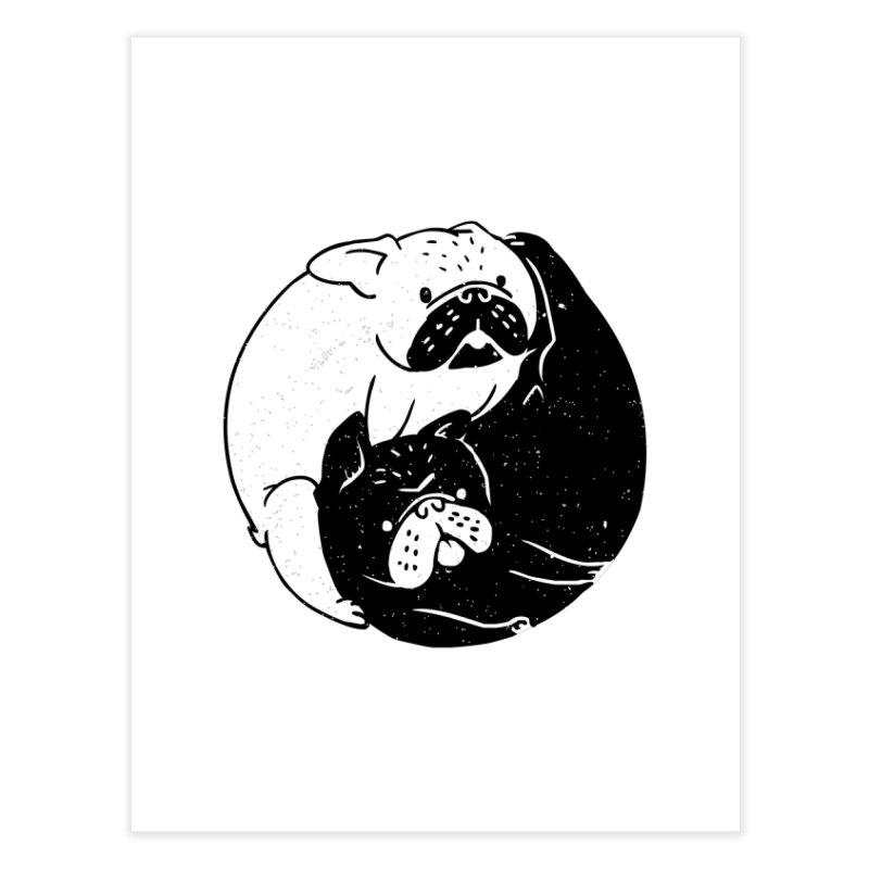 The Tao of French Bulldog Home Fine Art Print by huebucket's Artist Shop