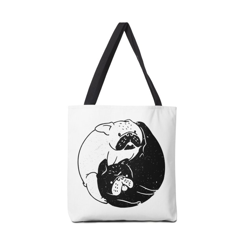 The Tao of French Bulldog Accessories Bag by huebucket's Artist Shop