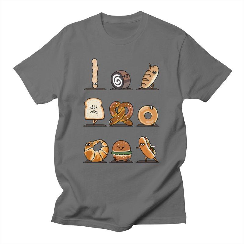 Breads Yoga Men's T-Shirt by huebucket's Artist Shop