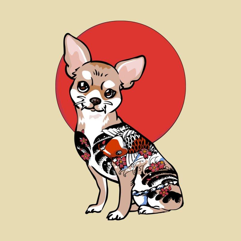 Yakuza Chihuahua Home Tapestry by huebucket's Artist Shop